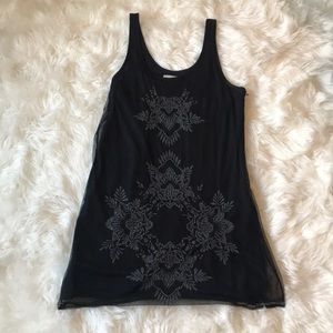 Abercrombie and Fitch Black Beaded Dress